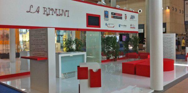Stand e programmazione incontri per La Rimini